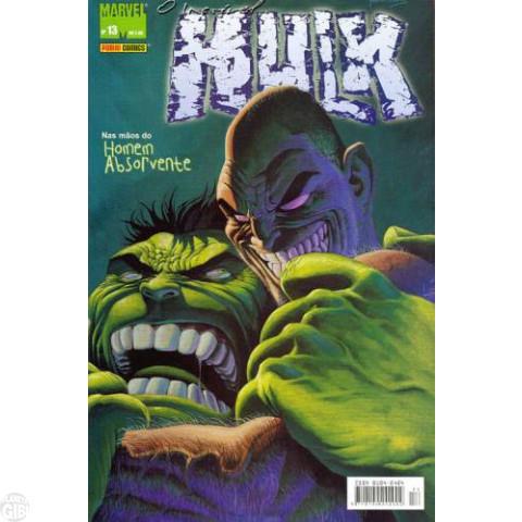 Incrível Hulk [Panini - 1ª série] nº 013 fev/2005