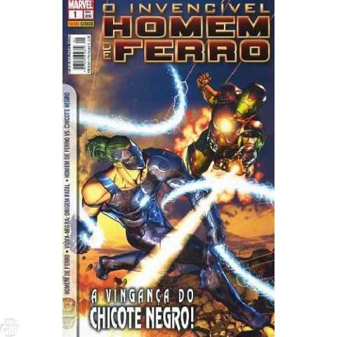 Invencível Homem de Ferro [Panini - 1ª série] nº 001 mai/2010