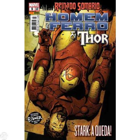 Invencível Homem de Ferro [Panini - 1ª série] nº 009 jan/2011 - Homem de Ferro e Thor
