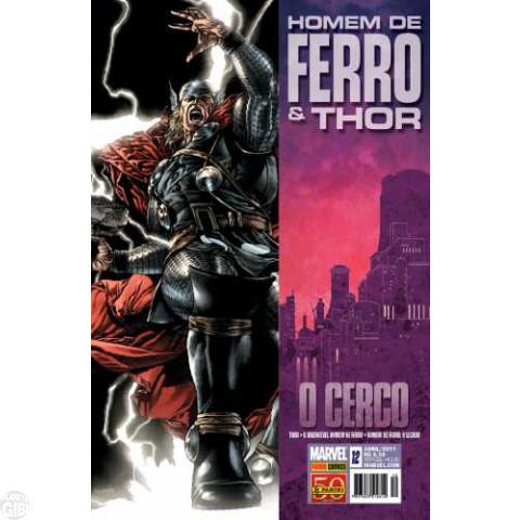 Invencível Homem de Ferro [Panini - 1ª série] nº 012 abr/2011 - Homem de Ferro e Thor