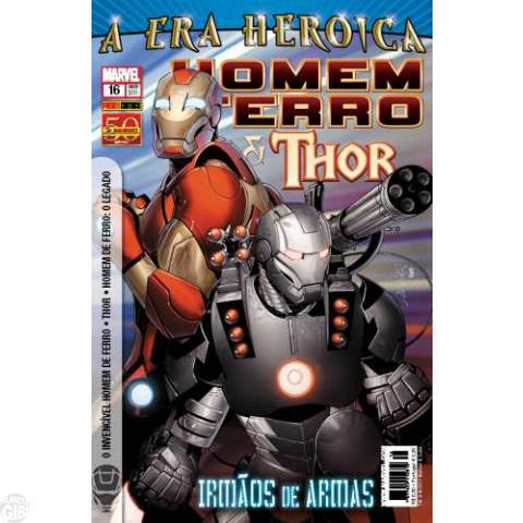 Invencível Homem de Ferro [Panini - 1ª série] nº 016 ago/2011 - Homem de Ferro e Thor