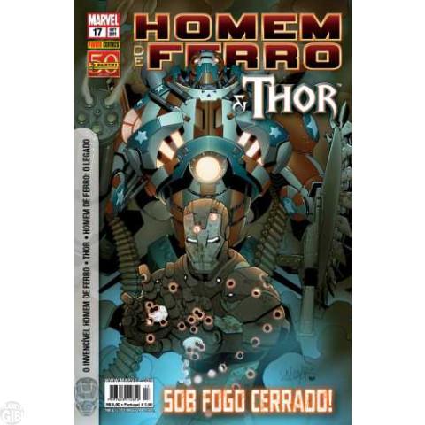 Invencível Homem de Ferro [Panini - 1ª série] nº 017 set/2011 - Homem de Ferro e Thor