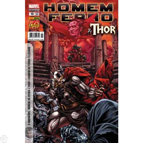 Invencível Homem de Ferro [Panini - 1ª série] nº 019 nov/2011 - Homem de Ferro e Thor