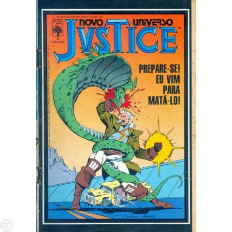 Justice [Abril] nº 003 out/1987 - Prepare-se Eu Vim para Matá-lo!