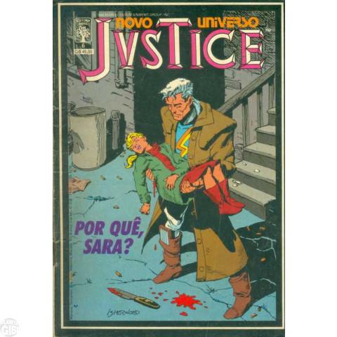 Justice [Abril] nº 006 jan/1988 - Por quê, Sara?
