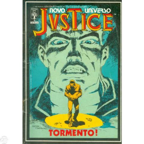 Justice [Abril] nº 009 abr/1988 - Tormento!