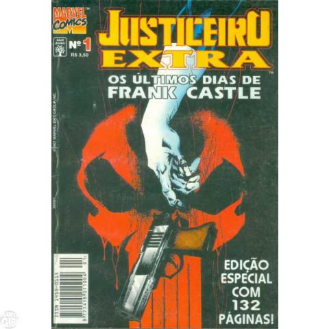 Justiceiro Extra [Abril] nº 001 nov/1997 - Os Últimos Dias de Frank Castle