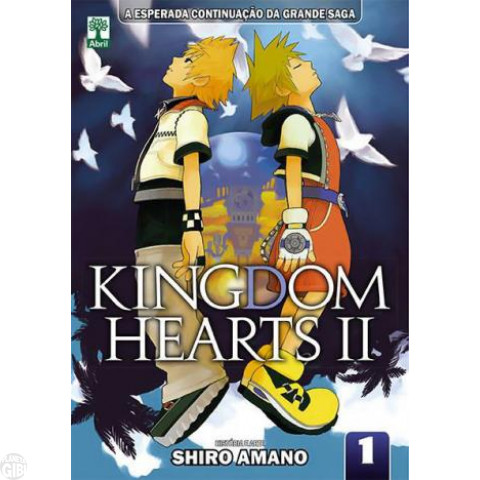 Kingdom Hearts II nº 001 mar/2014 - Shiro Amano