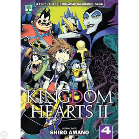 Kingdom Hearts II nº 004 jun/2014 - Shiro Amano
