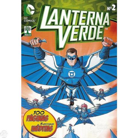 Lanterna Verde [Abril - DC Animated] nº 002 out/2014 - Última Edição
