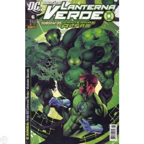 Lanterna Verde [Panini - 1ª série] nº 006 fev/2009 - Dimensão DC
