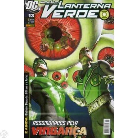Lanterna Verde [Panini - 1ª série] nº 013 set/2009 - Dimensão DC