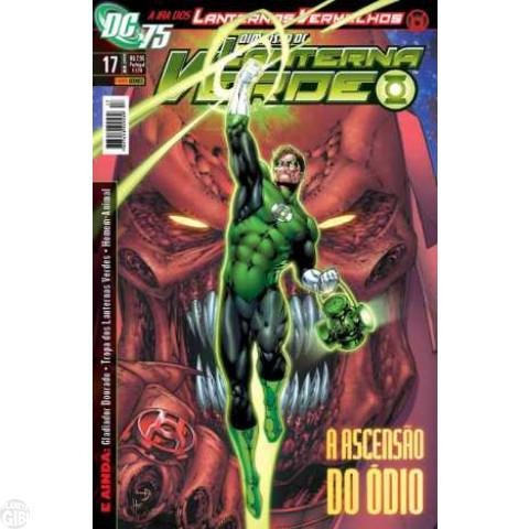 Lanterna Verde [Panini - 1ª série] nº 017 jan/2010 - Dimensão DC
