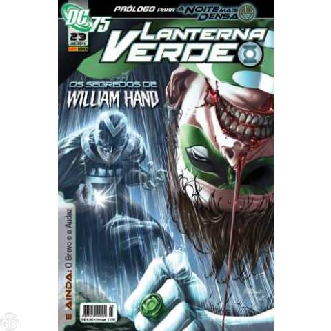 Lanterna Verde [Panini - 1ª série] nº 023 jul/2010 - Dimensão DC