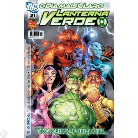 Lanterna Verde [Panini - 1ª série] nº 031 mar/2011 - Dimensão DC