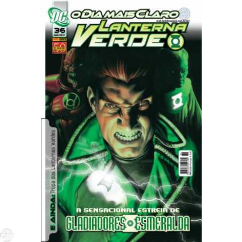 Lanterna Verde [Panini - 1ª série] nº 036 ago/2011 - Dimensão DC