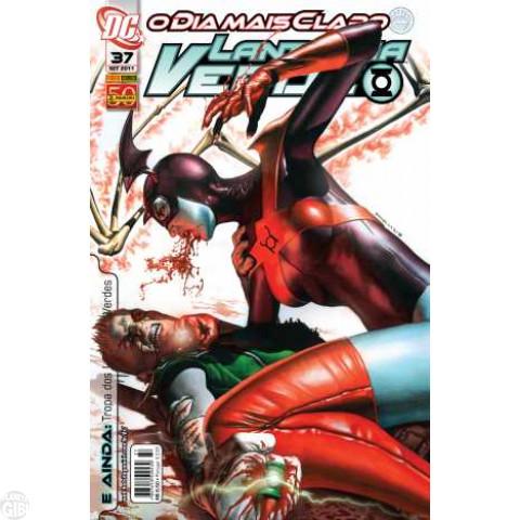 Lanterna Verde [Panini - 1ª série] nº 037 set/2011 - Dimensão DC