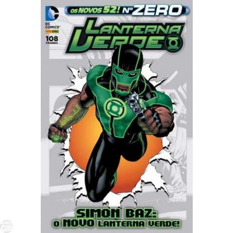 Lanterna Verde [Panini - 2ª série] nº 000 jun/2013 - Os Novos 52