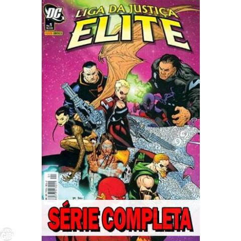 Liga da Justiça Elite - Minissérie - Coleção Completa (série em 3 volumes) 2006 (MSDCP)