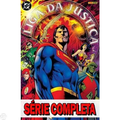 Liga da Justiça: Outro Prego - Minissérie - Completa (série em 3 volumes) 2005