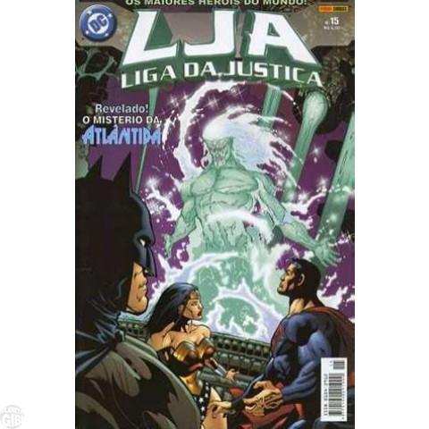 Liga da Justiça [Panini - 1ª série] nº 015 fev/2004 - Vide Detalhes