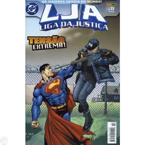 Liga da Justiça [Panini - 1ª série] nº 022 set/2004