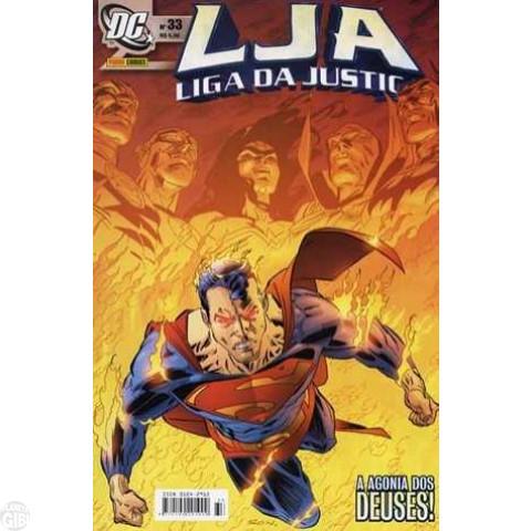 Liga da Justiça [Panini - 1ª série] nº 033 ago/2005