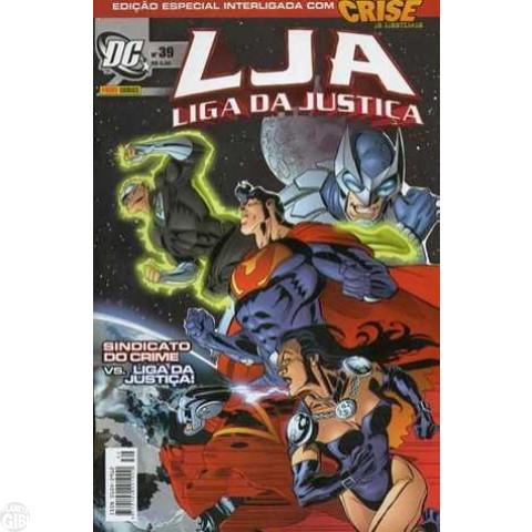 Liga da Justiça [Panini - 1ª série] nº 039 fev/2006