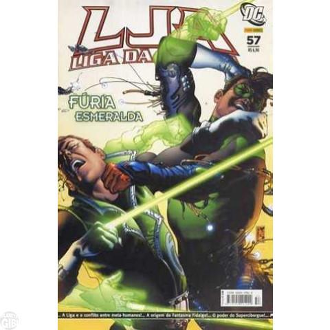 Liga da Justiça [Panini - 1ª série] nº 057 ago/2007