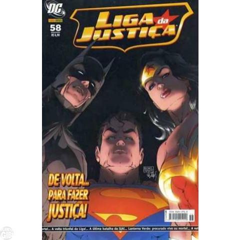 Liga da Justiça [Panini - 1ª série] nº 058 set/2007