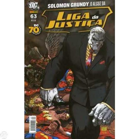 Liga da Justiça [Panini - 1ª série] nº 063 fev/2008