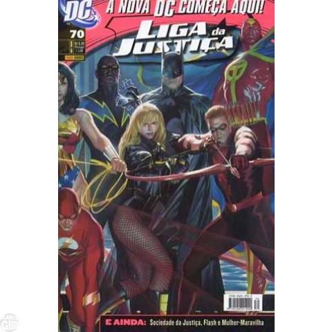 Liga da Justiça [Panini - 1ª série] nº 070 set/2008