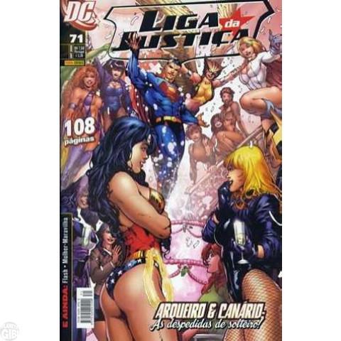 Liga da Justiça [Panini - 1ª série] nº 071 out/2008