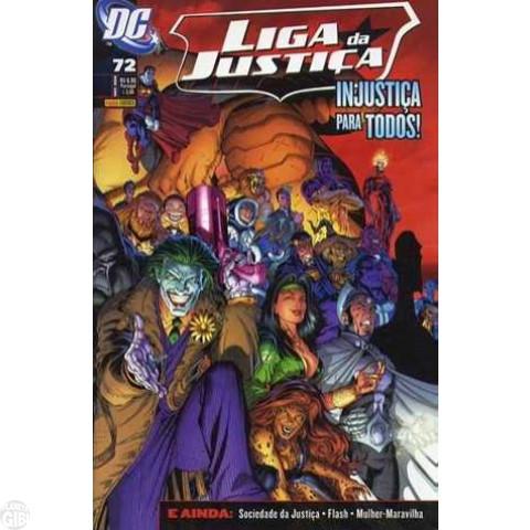 Liga da Justiça [Panini - 1ª série] nº 072 nov/2008