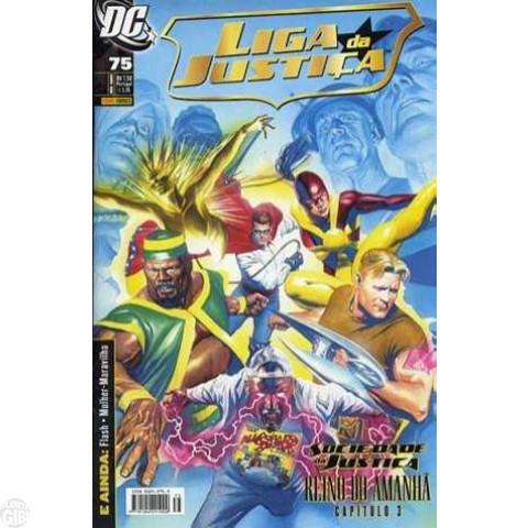 Liga da Justiça [Panini - 1ª série] nº 075 fev/2009