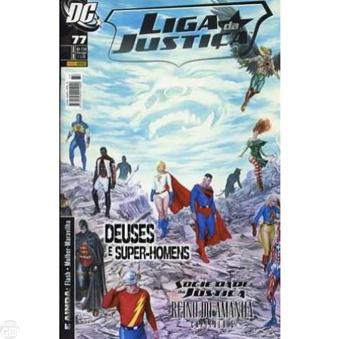 Liga da Justiça [Panini - 1ª série] nº 077 abr/2009