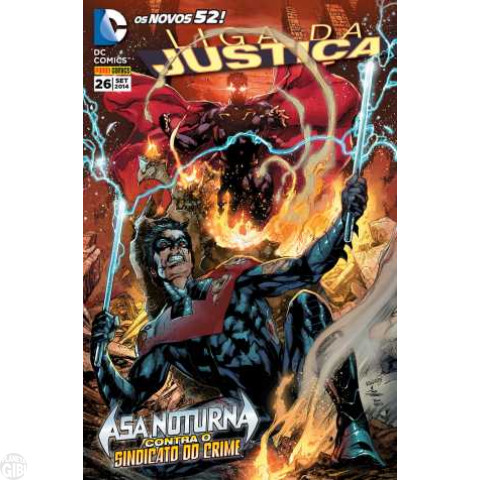 Liga da Justiça [Panini - 2ª série] nº 026 set/2014