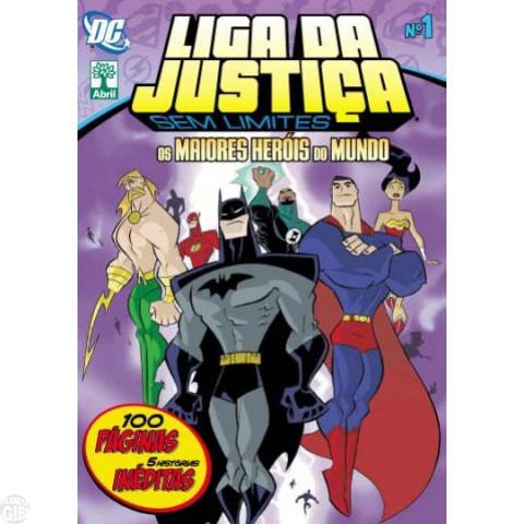 Liga da Justiça Sem Limites [Abril - DC Animated] nº 001 set/2011