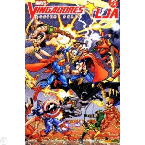 LJA/Vingadores • Vingadores/LJA nº 002 fev/2004 (MSADCP)
