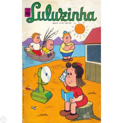 Luluzinha [Abril] nº 043 jan/1978 - Vide detalhes