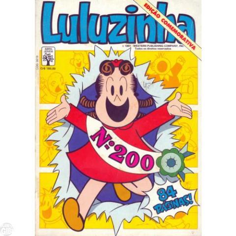 Luluzinha [Abril] nº 200 fev/1991 - Edição Comemorativa