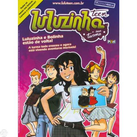 Luluzinha Teen e Sua Turma [Pixel] nº 000 Zero - Edição Promocional
