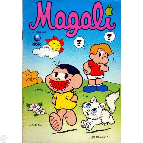 Magali [1s Globo] nº 012 dez/1989