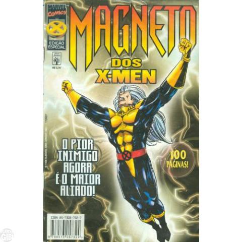 Magneto dos X-Men [Abril]  dez/1998 - O Pior Inimigo Agora É o Maior Aliado