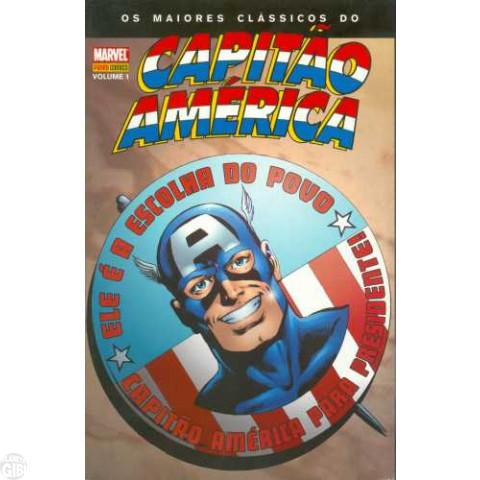 Maiores Clássicos do Capitão América [Panini] nº 001 mai/2008 - Roger Stern & John Byrne