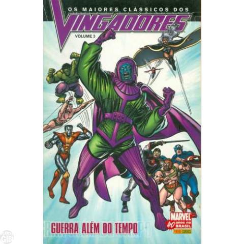 Maiores Clássicos dos Vingadores [Panini] nº 003 mai/2007 - Guerra Além do Tempo