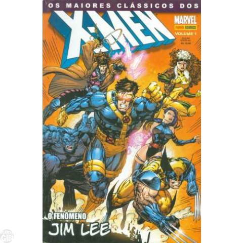 Maiores Clássicos dos X-Men [Panini] nº 001 jul/2003 - Jim Lee