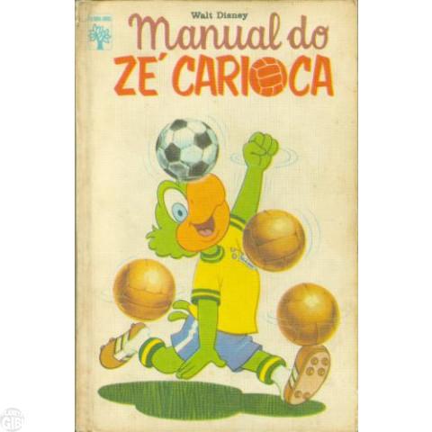 Manual do Zé Carioca  mar/1974 - Capa Dura