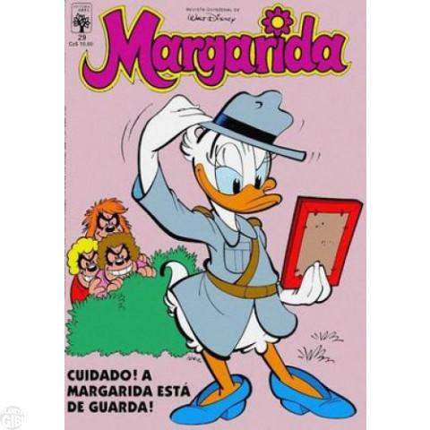 Margarida [1ª série] nº 029 ago/1987 - A Elegante Invisível - Carl Barks - Vide detalhes
