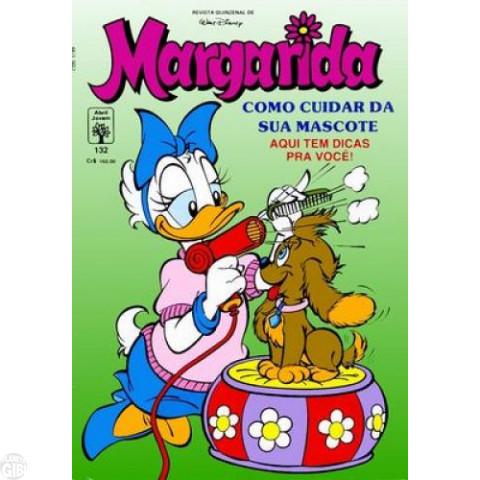 Margarida [1ª série] nº 132 jul/1991 - As Grandes Dores são Mudas